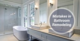 Mistakes in Bathroom Remodeling