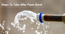 Steps To Take After Pipes Burst